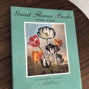 Great Flower Books 1700-1900 Coffee Table Book